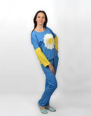 Женский трикотажный костюм Украиночка СК 212